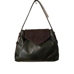 Matt & Nat Jorjasm Forest Green Vegan Faux Leather Shoulder Hobo Bag